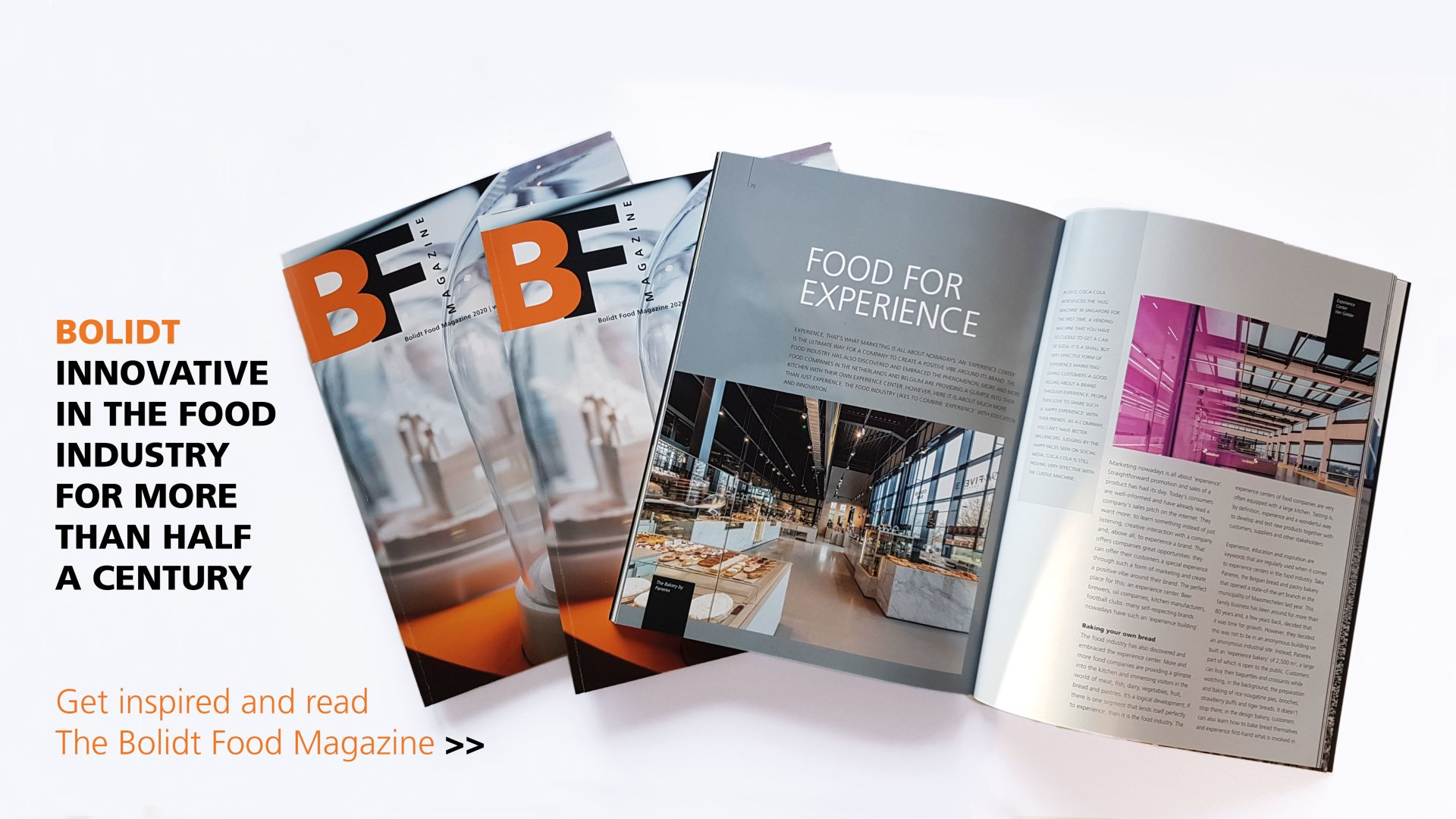 Header Food magazine