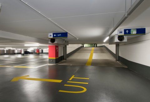 Parkeergarage Interparking Helicon Den Haag Boligrip 200R