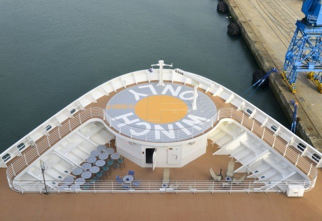 Anthem of the Seas Meyer Werft Bolideck Select Hard